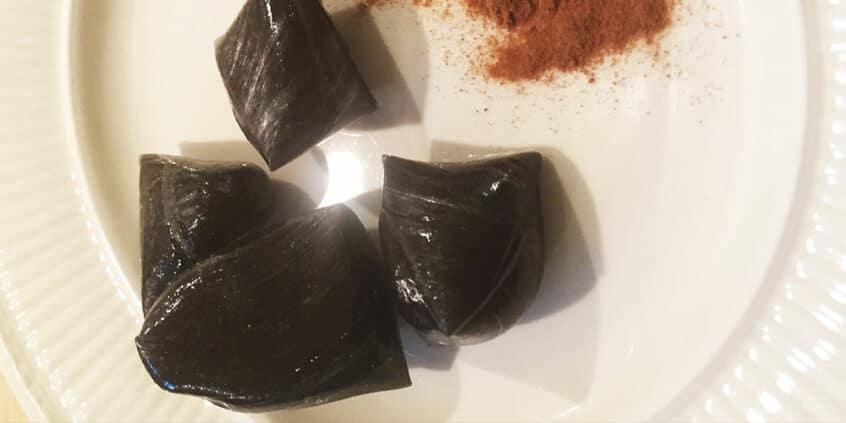 lækre hjemmelavede lakrids mentol bolsjer